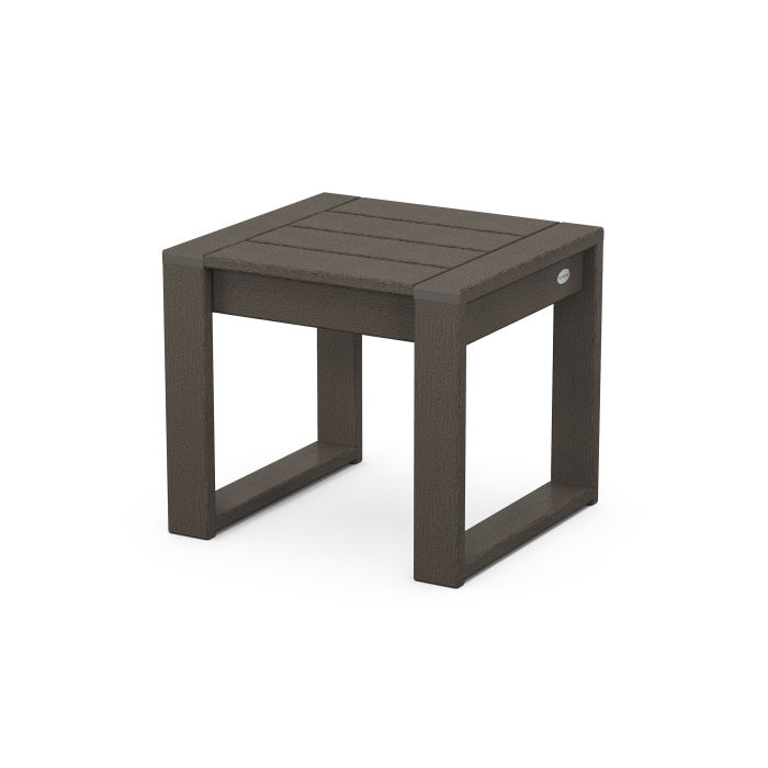EDGE End Table in Vintage Finish