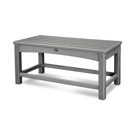 Rockport Club Coffee Table in Stepping Stone