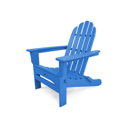 Cape Cod Folding Adirondack in Pacific Blue