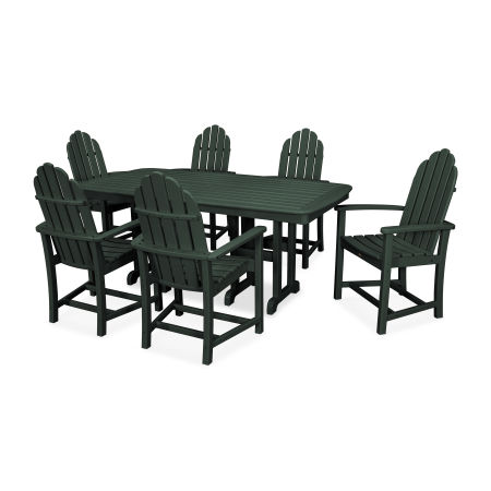 Cape Cod 7-Piece Dining Set in Rainforest Canopy