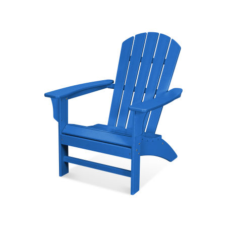 Yacht Club Adirondack Chair in Pacific Blue