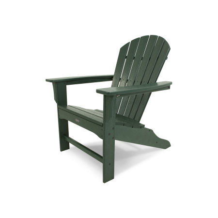 Yacht Club Shellback Adirondack Chair in Rainforest Canopy