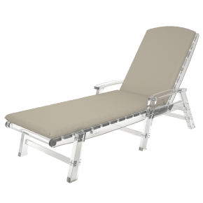 """21.25"""" x 77"""" Chaise Cushion"""