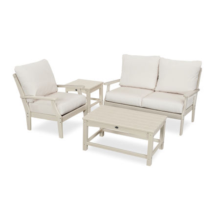 Yacht Club 4-Piece Deep Seating Set