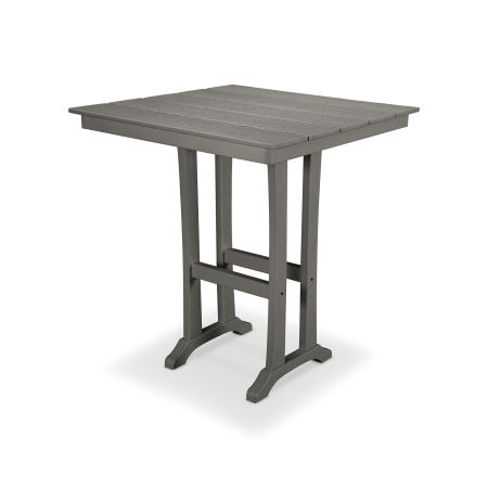 "Farmhouse 37"" Bar Table in Stepping Stone"